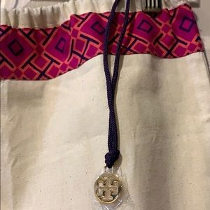 Tory Burch Drawstring Bag Holder Extra Large NWOT
